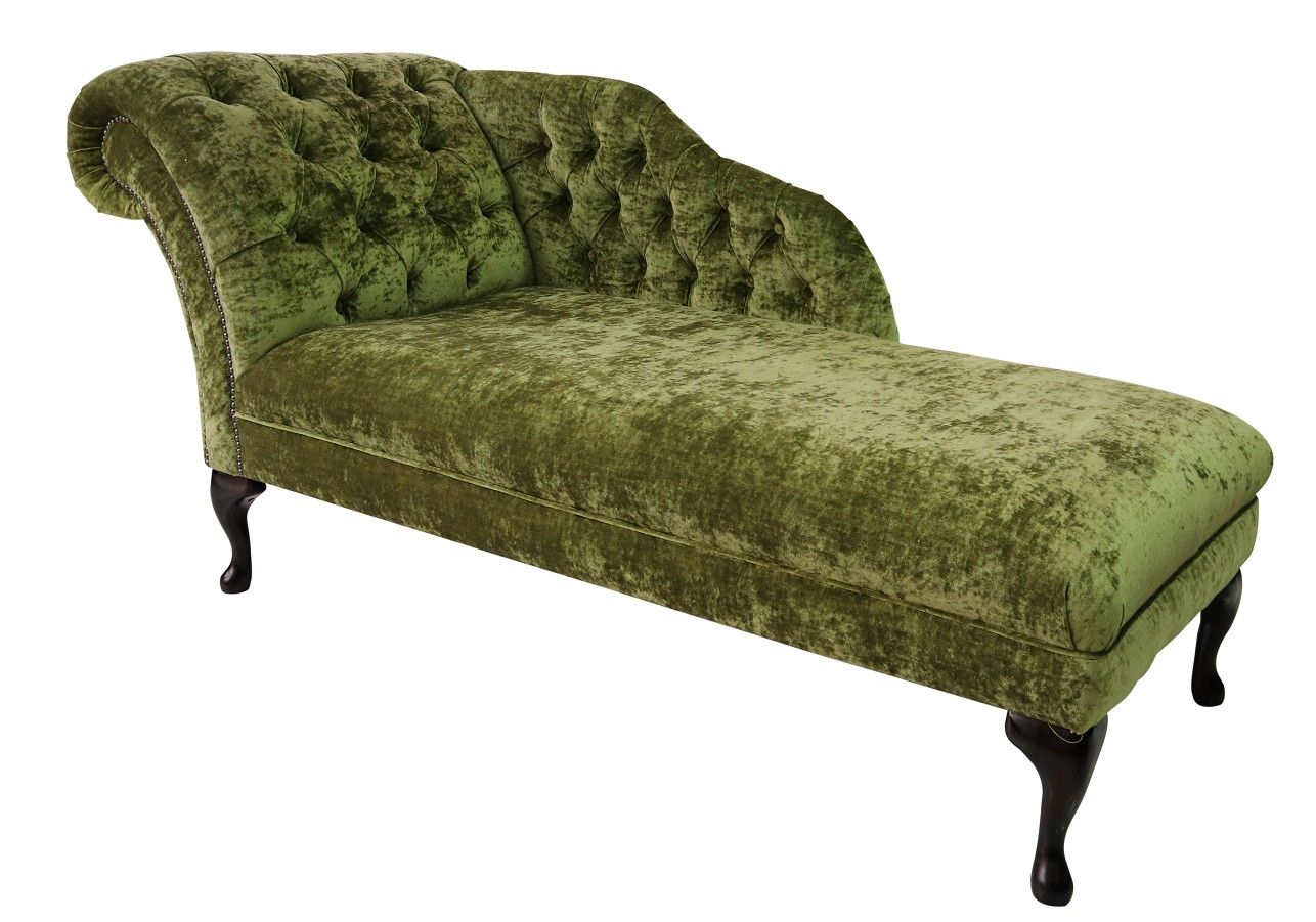 Incredible Chesterfield Velvet Chaise Lounge Day Bed Modena Pistachio Green Velvet Gmtry Best Dining Table And Chair Ideas Images Gmtryco