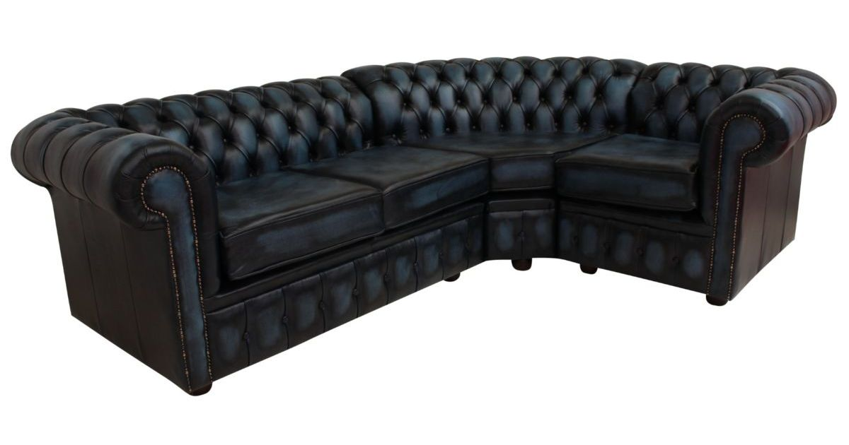Chesterfield Corner Sofa 2 Seater