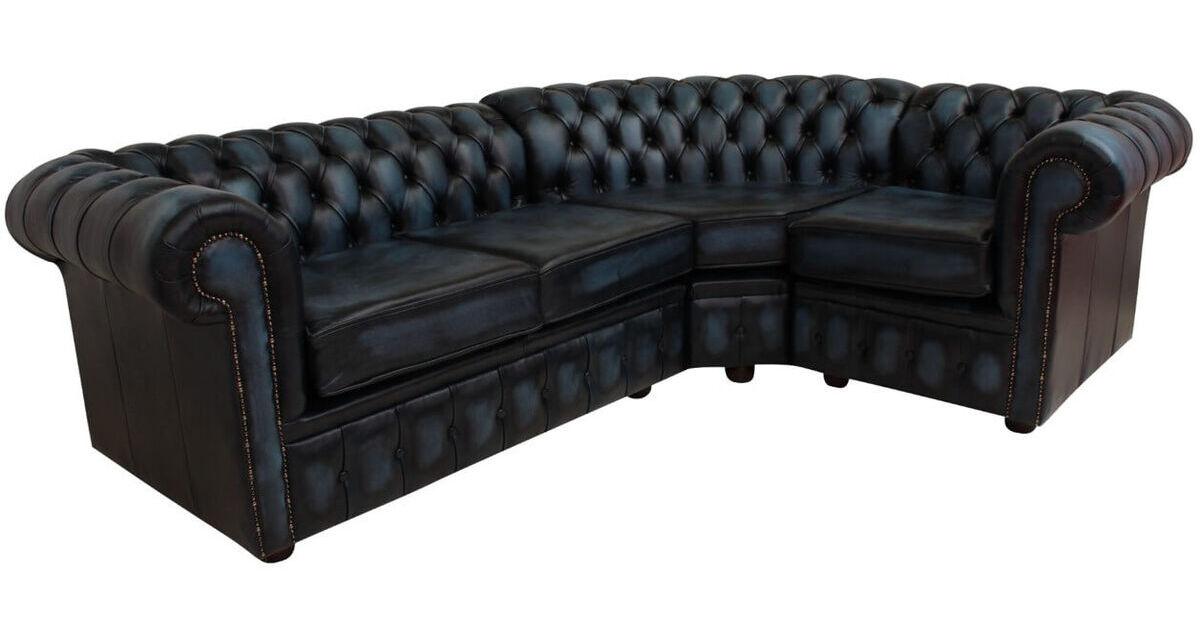 Chesterfield Corner Sofa 2 Seater Corner 1 Seater