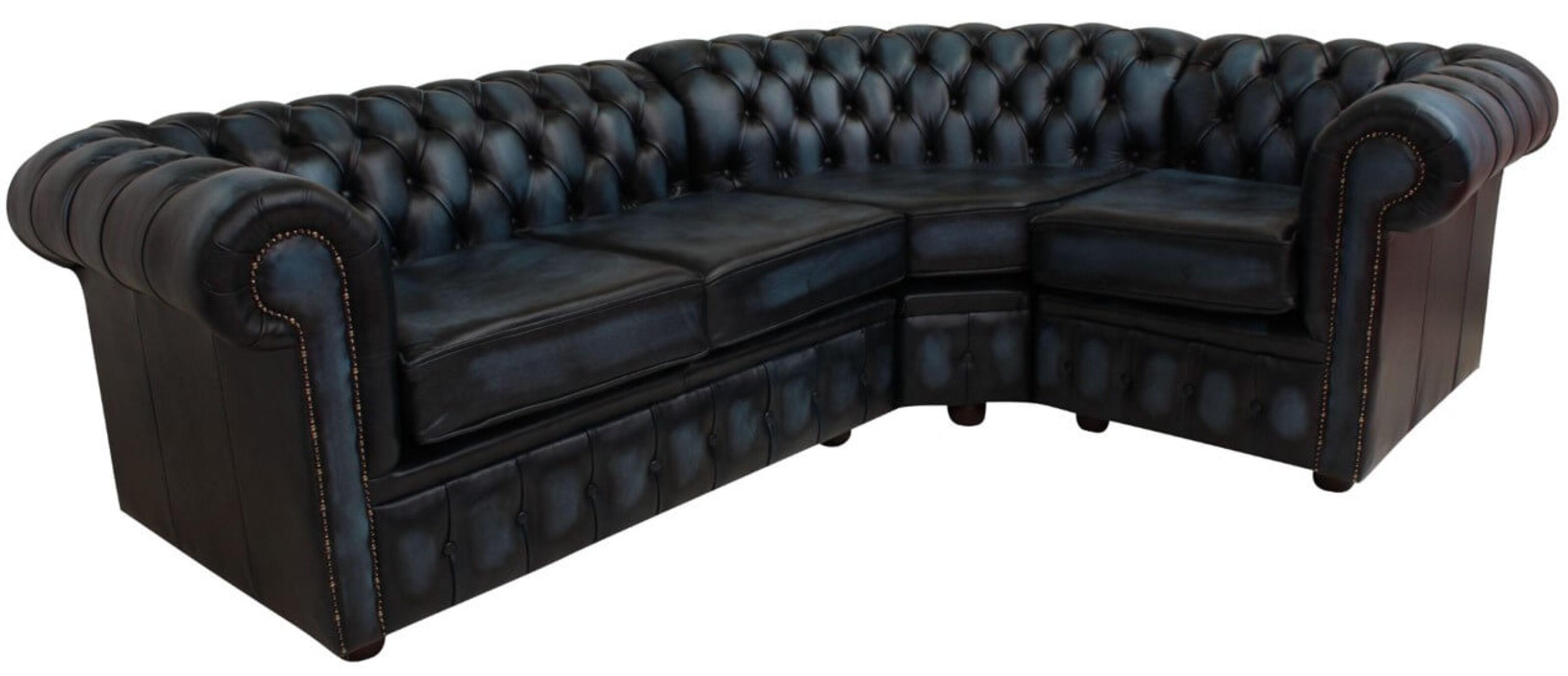 Chesterfield Corner Sofa 2 Seater