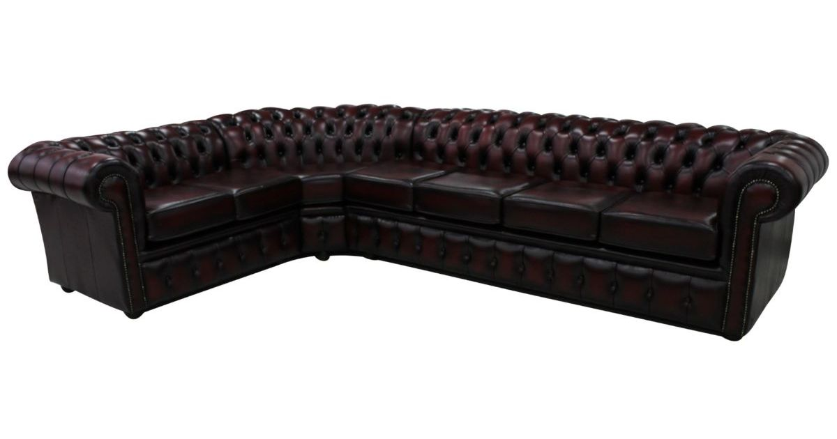 Chesterfield Corner Sofa 4 Seater Corner 2 Seater