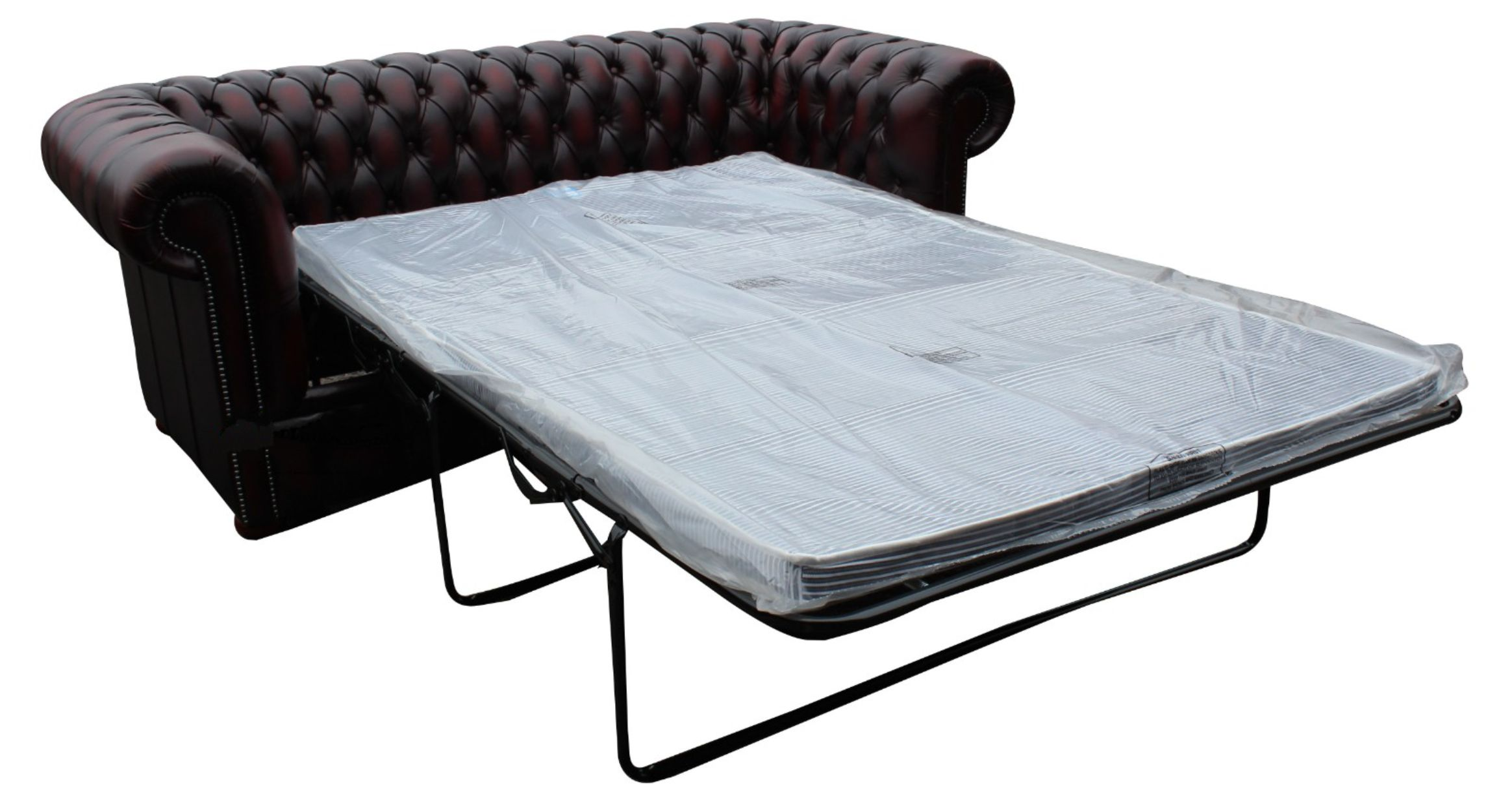 Buy Antique Oxblood Chesterfield Sofa Bed Designersofas4u