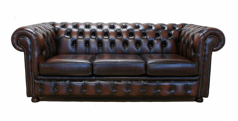 Traditional English Chesterfield Sofa Settee Import Export
