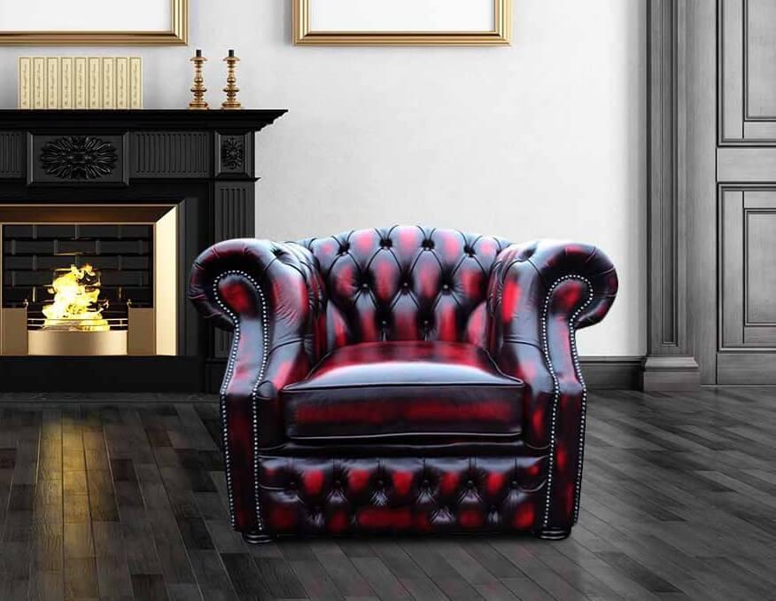 chesterfield-buckingham-club-armchair-antique-oxblood ...