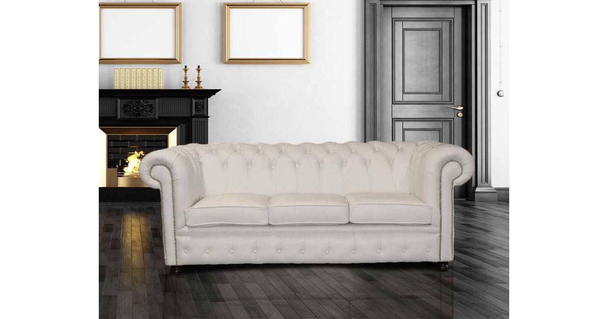 Buy Leather Chesterfield Uk Manufacturer Designersofas4u