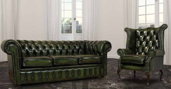 buy leather 3 1 seat chesterfield suite designersofas4u