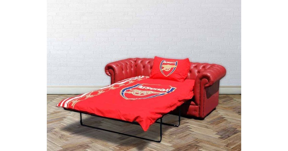 Super Buy Arsenal Sofa Bed Red Chesterfield Designersofas4U Download Free Architecture Designs Philgrimeyleaguecom