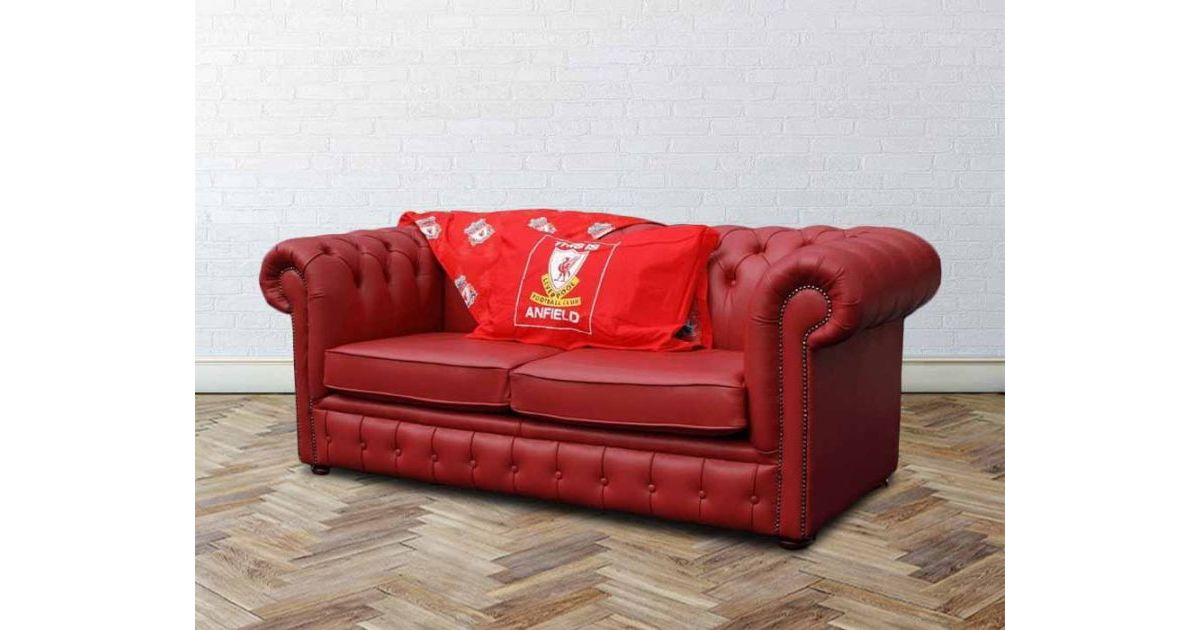 Pleasing Buy Liverpool Sofa Bed Red Chesterfield Designersofas4U Download Free Architecture Designs Philgrimeyleaguecom