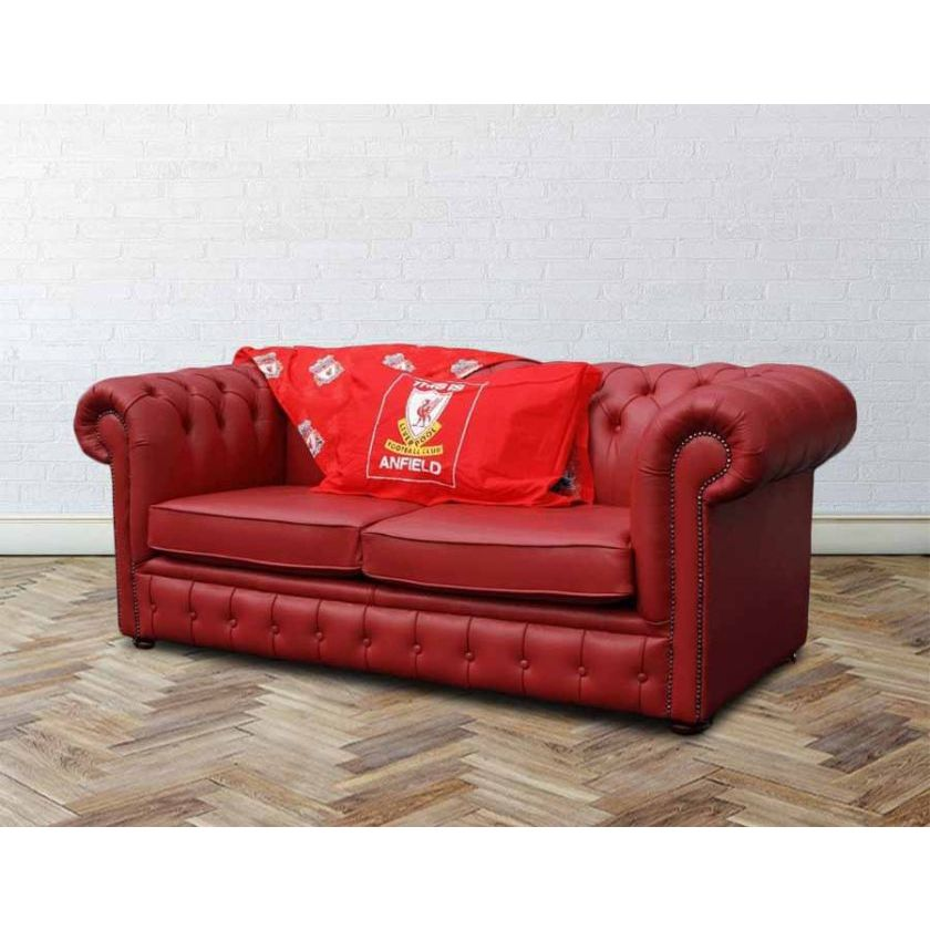 Fantastic Buy Liverpool Sofa Bed Red Chesterfield Designersofas4U Pdpeps Interior Chair Design Pdpepsorg