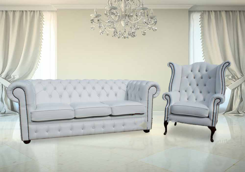 buy white leather chesterfield sofa chair set online rh designersofas4u co uk white chesterfield sofa with crystals white chesterfield sofa uk