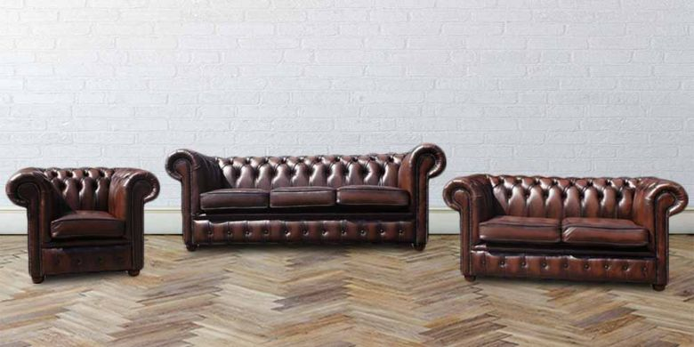 Buy leather furniture livingroom sofas|Chesterfield furniture|DesignerSofas4U