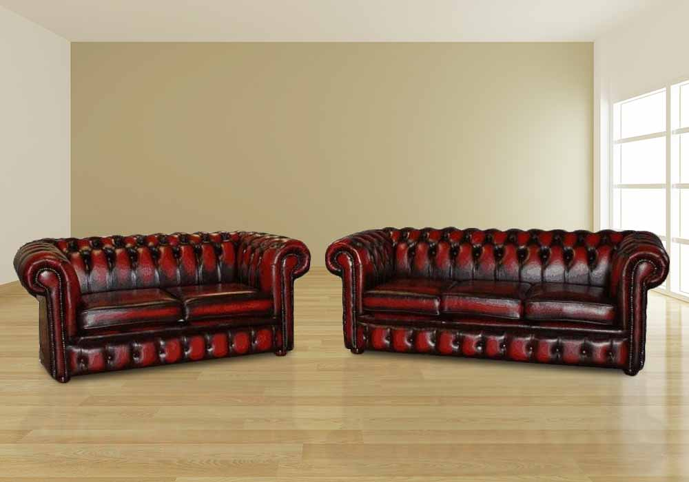 Magnificent Chesterfield 3 2 Leather Sofa Offer Antique Oxblood Interior Design Ideas Oteneahmetsinanyavuzinfo
