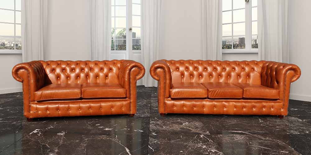 Buy 3 2 Seat Leather Suite Made In Uk Designersofas4u