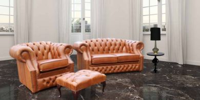 Buy Chesterfield suite|International shipping|DesingerSofas4U