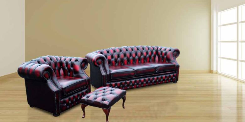 Buy Classic Chesterfield Suite|Made in UK Chesterfield Sofa|DesignerSofas4U