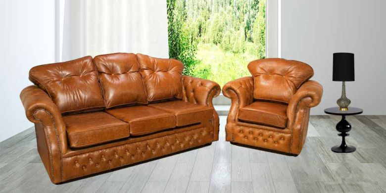 Buy Traditional Chesterfield Suite|Made in UK Chesterfield Sofas|DesignerSofas4U