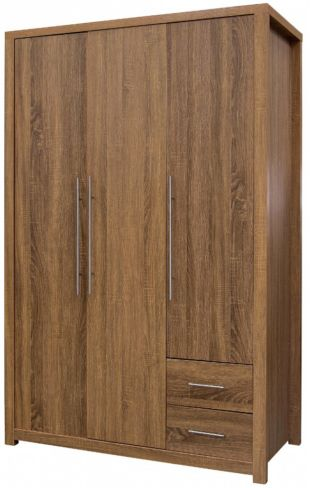 Havana 3 Door 2 Drawer Wardrobe