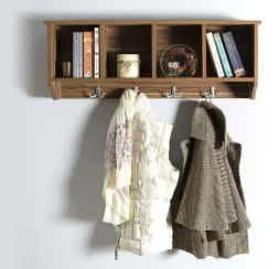 Kempton Wall Rack Walnut