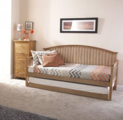 Madrid Day Bed With Trundle Bed
