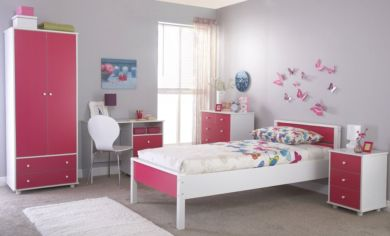 Miami Children's 5 Bedroom Pink Set