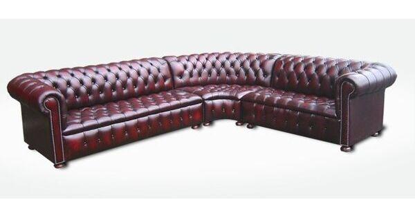 Chesterfield Corner Sofa Unit With Arm Designer Sofas 4u
