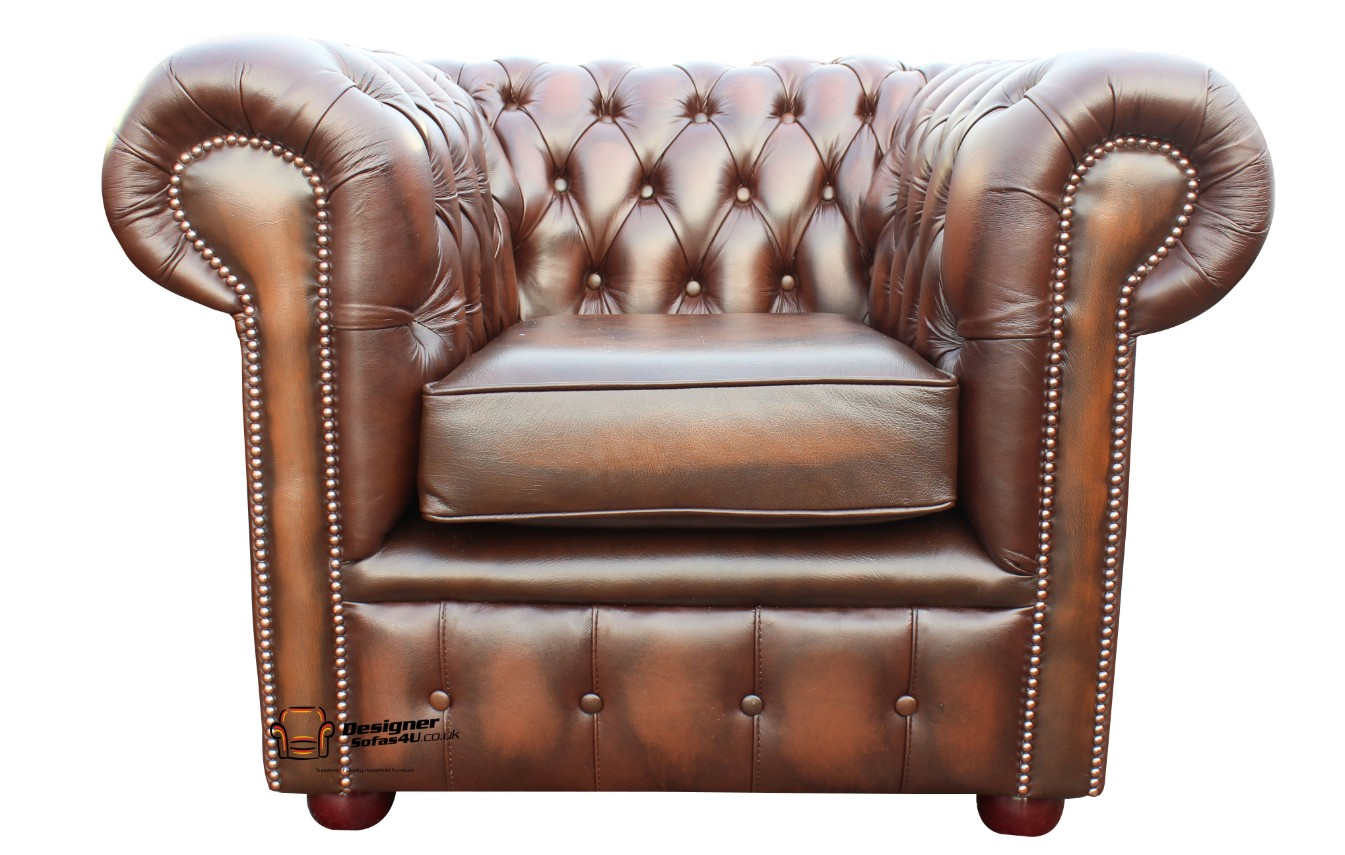 Designersofas4u Buy Leather Antique Green Chesterfield Club Armchair