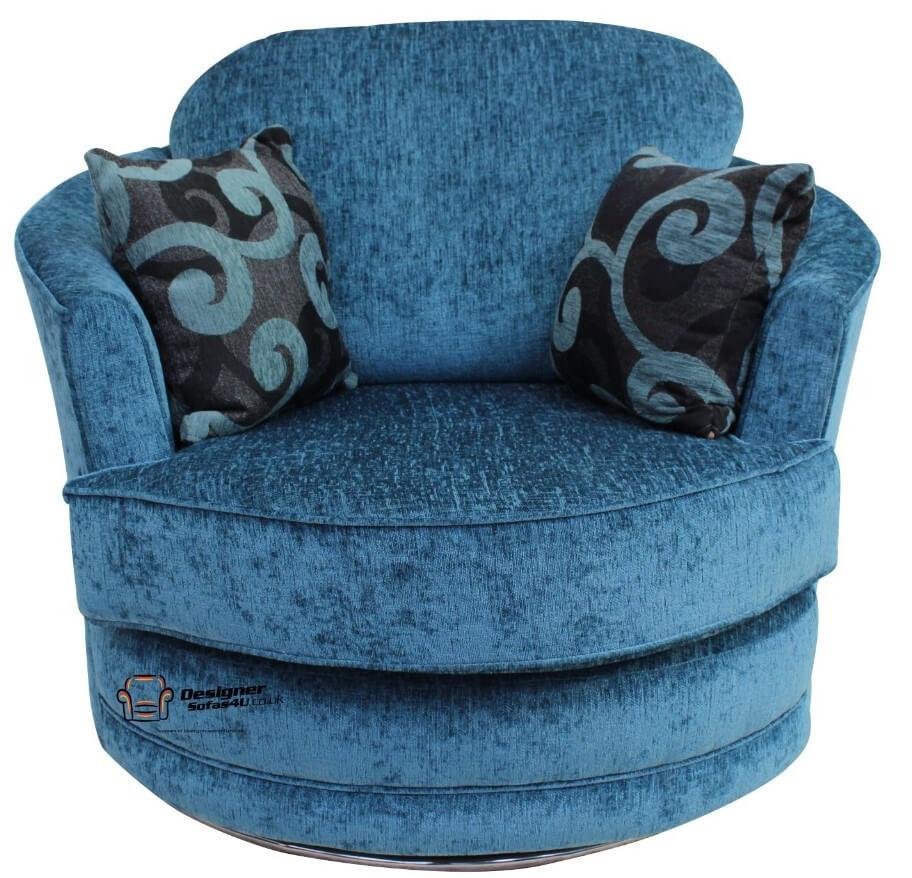 Cuddler Swivel Chair Snuggle Swivel Armchair Carlton