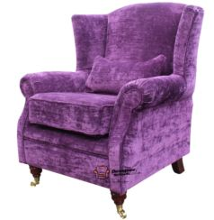 Amethyst Orthopeadic High Back Wing Chair