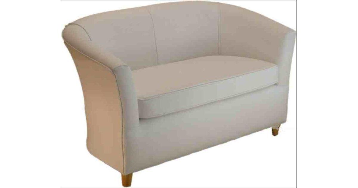 Leather Bucket Tub Chair