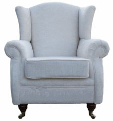 Wing Chair Fireside High Back Armchair Tango Crush Ivory