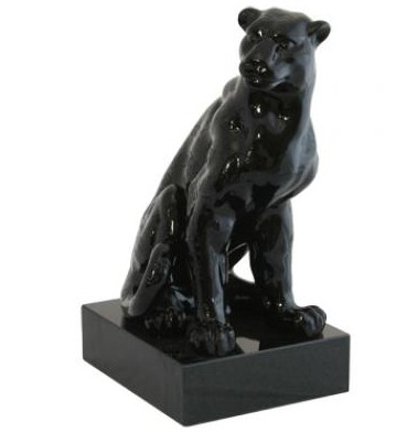 Panther Sculpture Ceramic Sculptures Uk