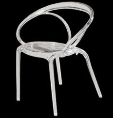 Stackable Transparent Chair