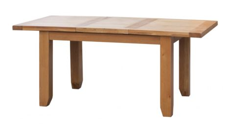 Acorn Solid Oak Extending Table Large