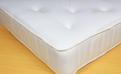 Aloe Vera Memory Foam Coil Sprung Mattress 4ft Small Double