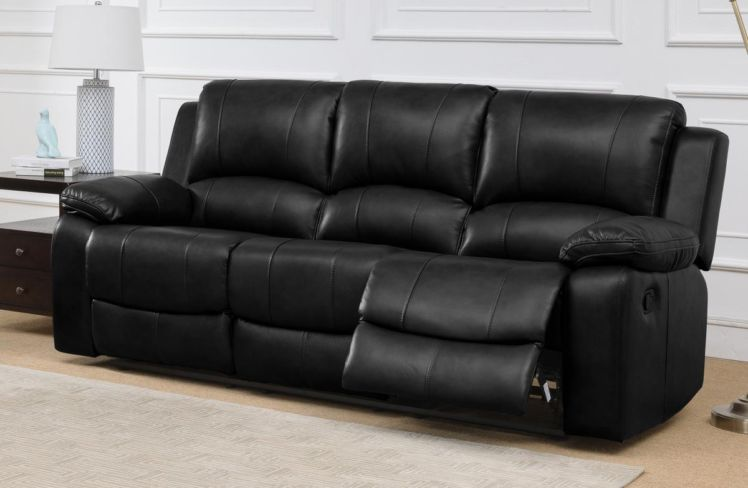 Andalusia Recliner LeatherGel & PU 3+2 Seater Sofa Suite