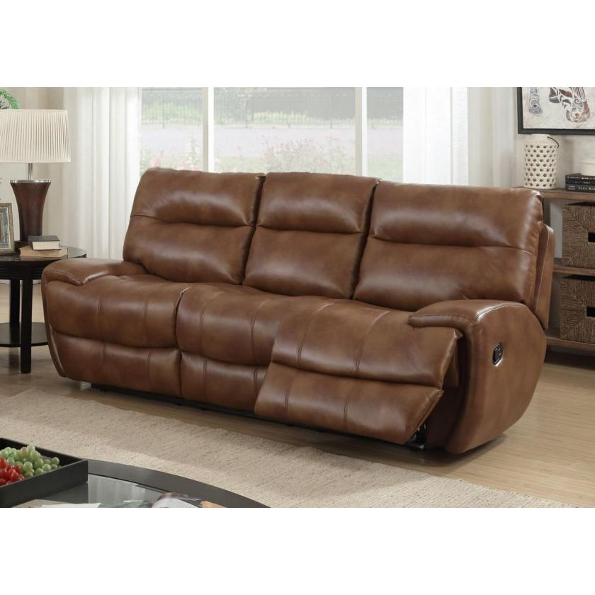 Bailey Recliner LeatherGel & PU 3 Seater