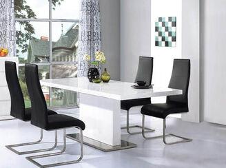 High Gloss Dining Table Sets | Designer Sofas 4U