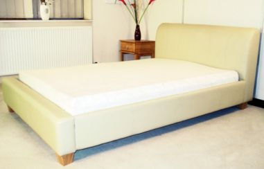 Frank 4'6'' Double Bedstead in PVC Finish 3 Colours Available