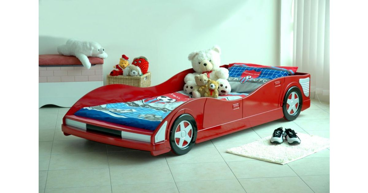 Movi Car Bed Single Red