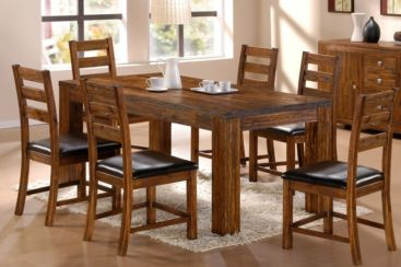 Martello Dining Table Set With 6 Dining Chairs