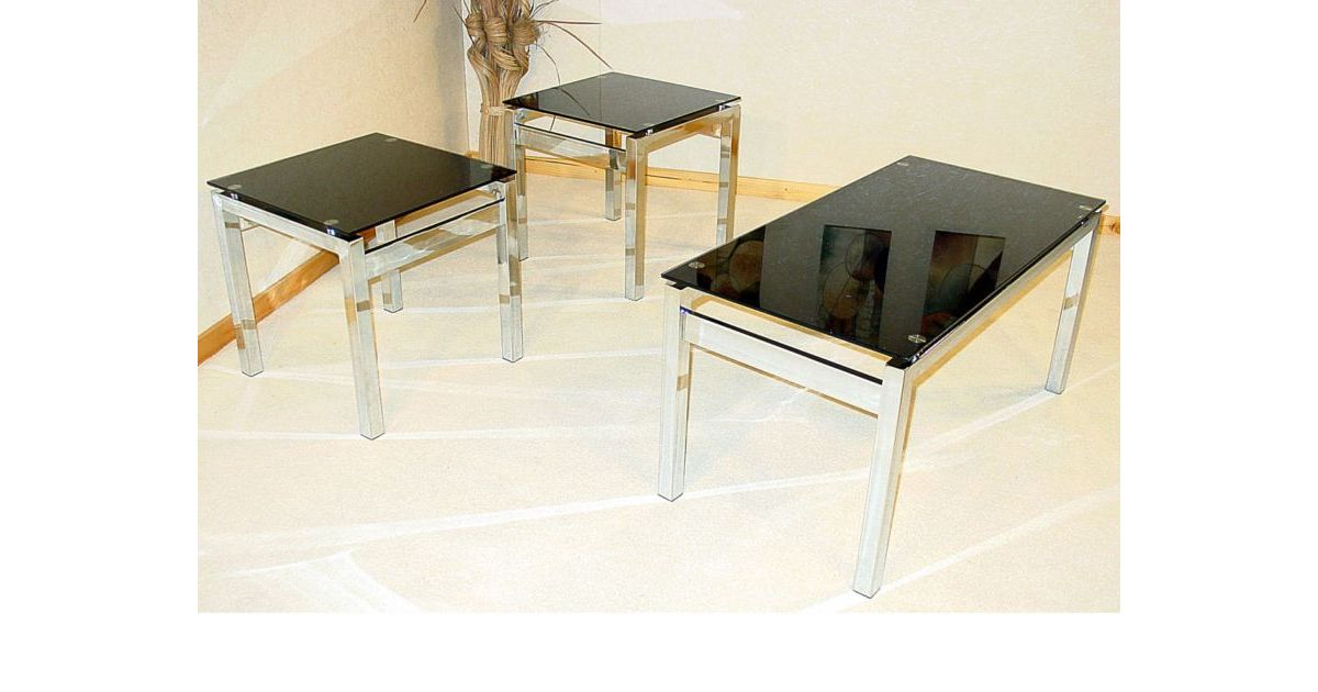 Eton Occasional Set 1 Coffee table 2 Lamp tables