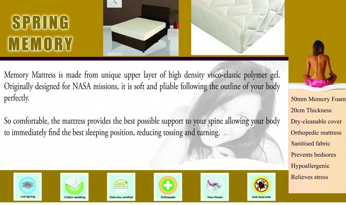 Spring Memory Mattress Kingsize