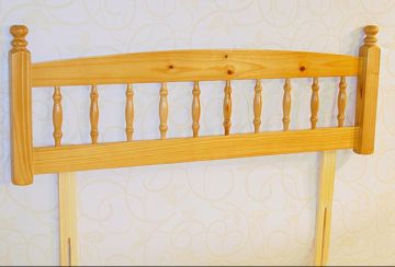 Palermo 3' Single Pine Headboard