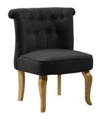 Pembridge Fabric Chair Black