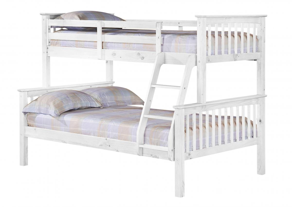 Porto Triple Bunk Bed White