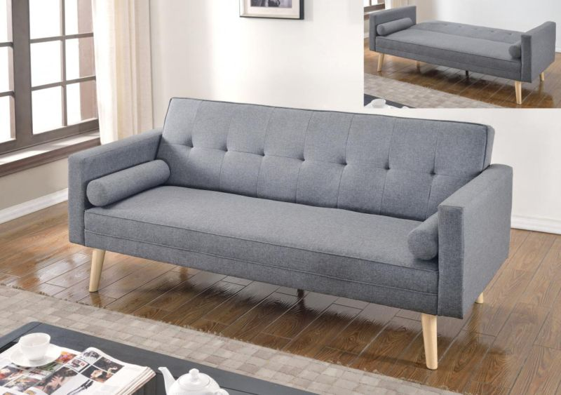 Remarkable Paris Linen Sofa Bed Light Grey Ocoug Best Dining Table And Chair Ideas Images Ocougorg