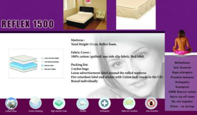 Reflex 1500 Mattress Kingsize