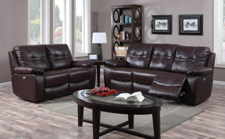Rockport Power Recliner Leather & PU 1 Seater