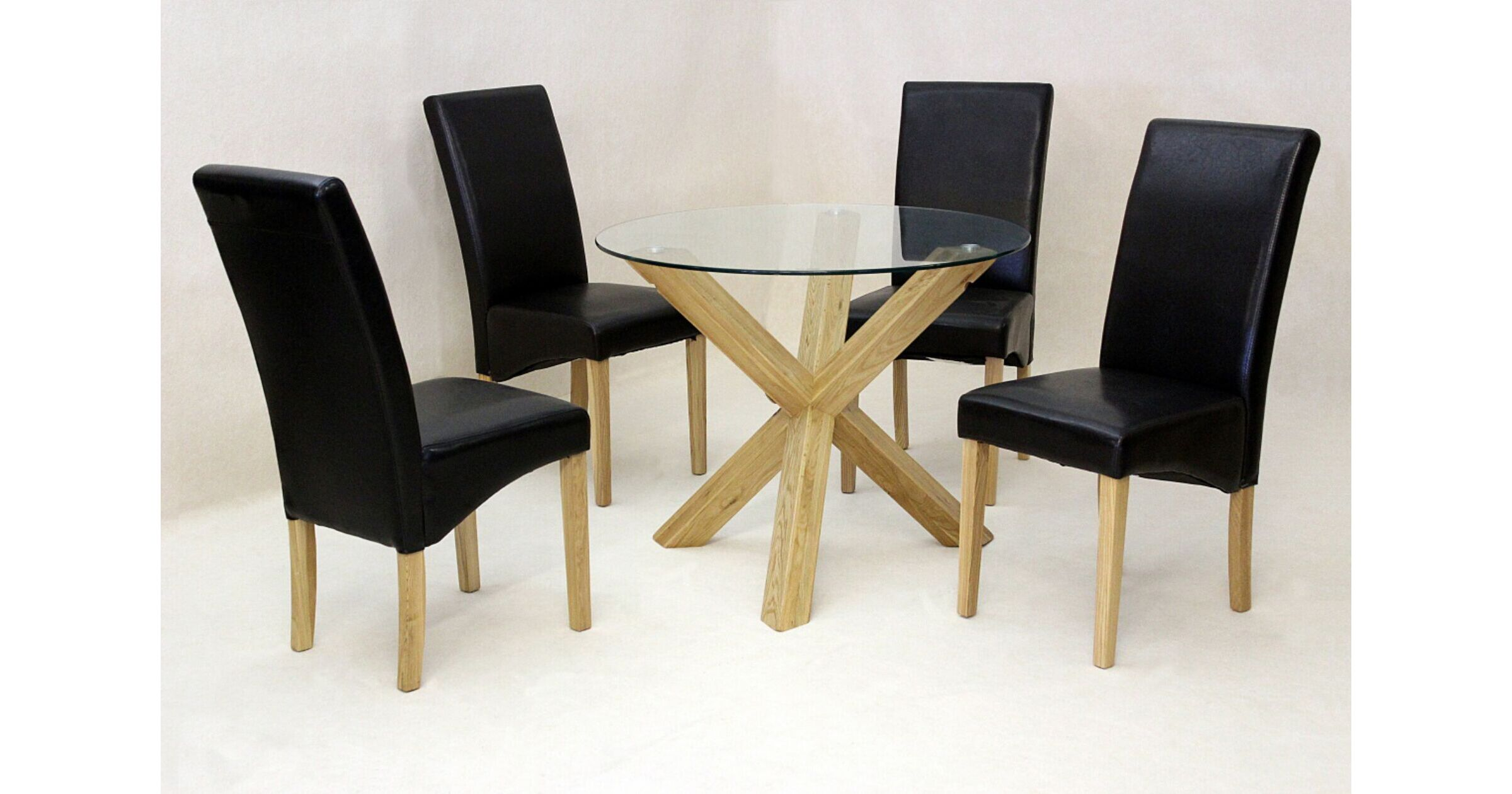 Saturn Small Dining Set,Dining table with 4 cyprus chair