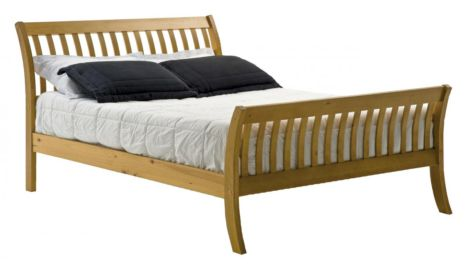 Lapaz Pine Bed Single Antique